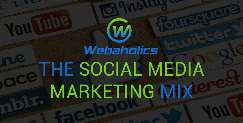 The Social Media Marketing Mix