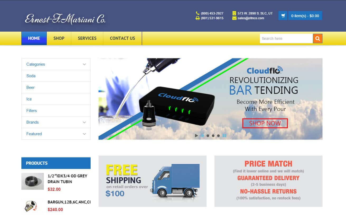 Webaholics Ecommerce Client Spotlight: EFMCO