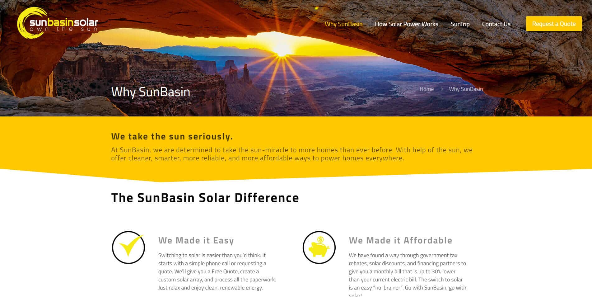 sun basin solar