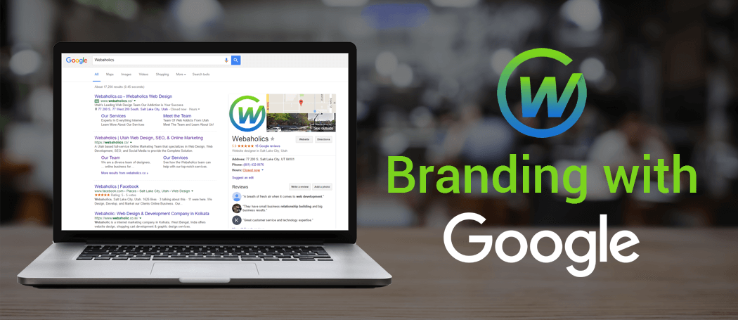 webaholics google branding
