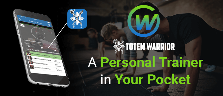 Personal Trainer iPhone App: Take a look at Totem Warrior