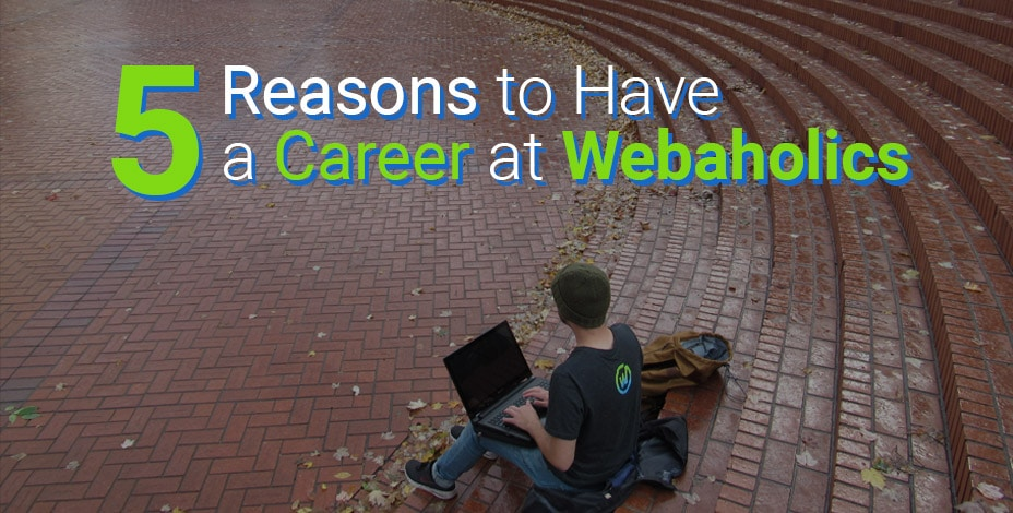 5 Reasons to Have a Web Career at Webaholics