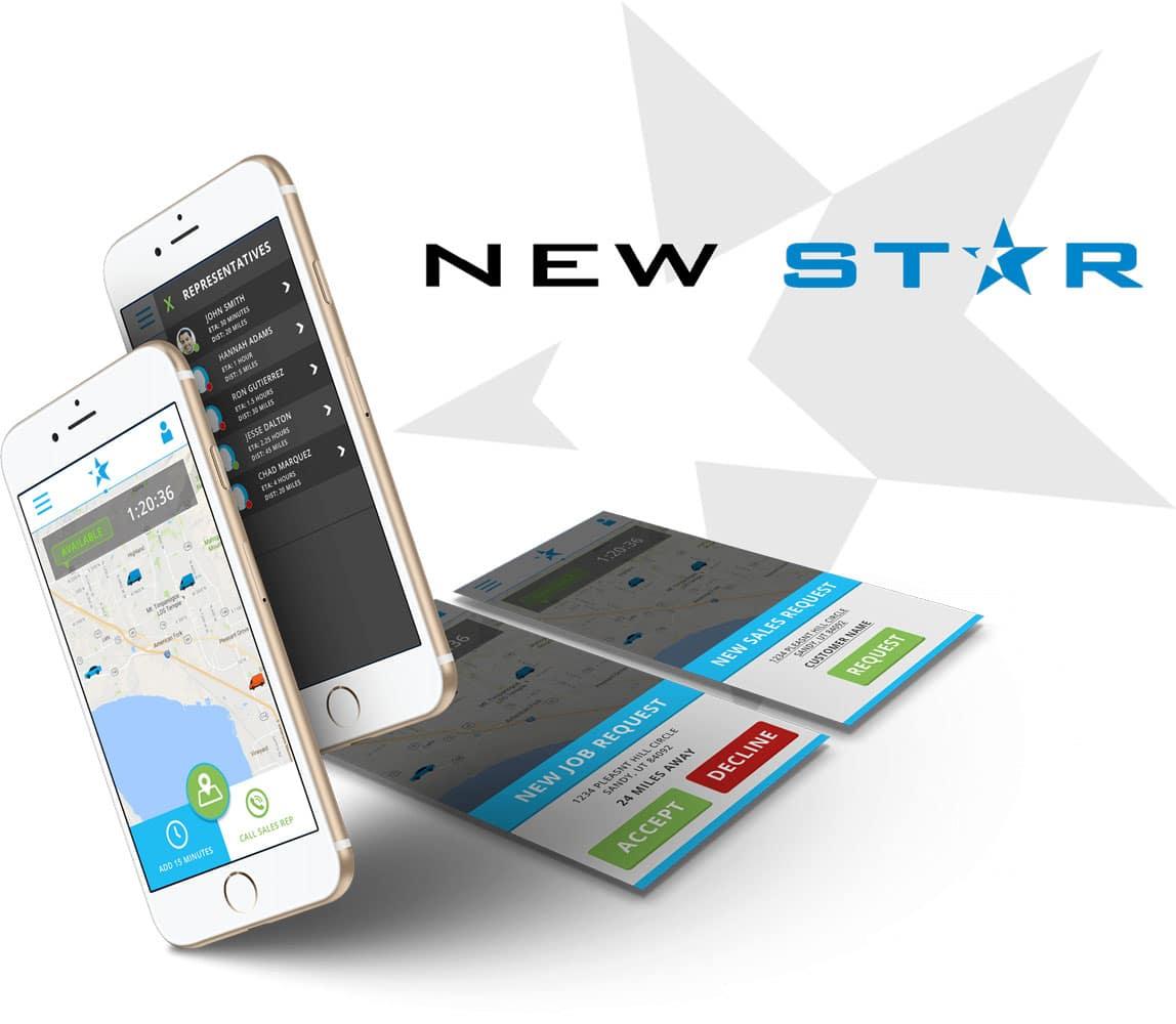iphone newstar app