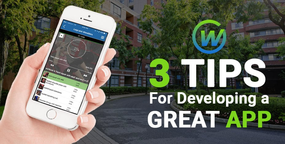 webaholics 3 tips for developing a great app