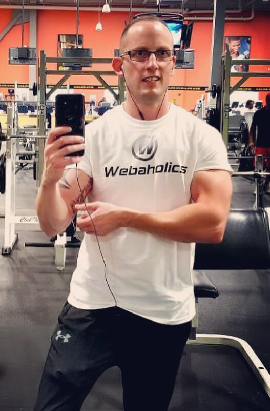 webaholics getting to know jesse working out