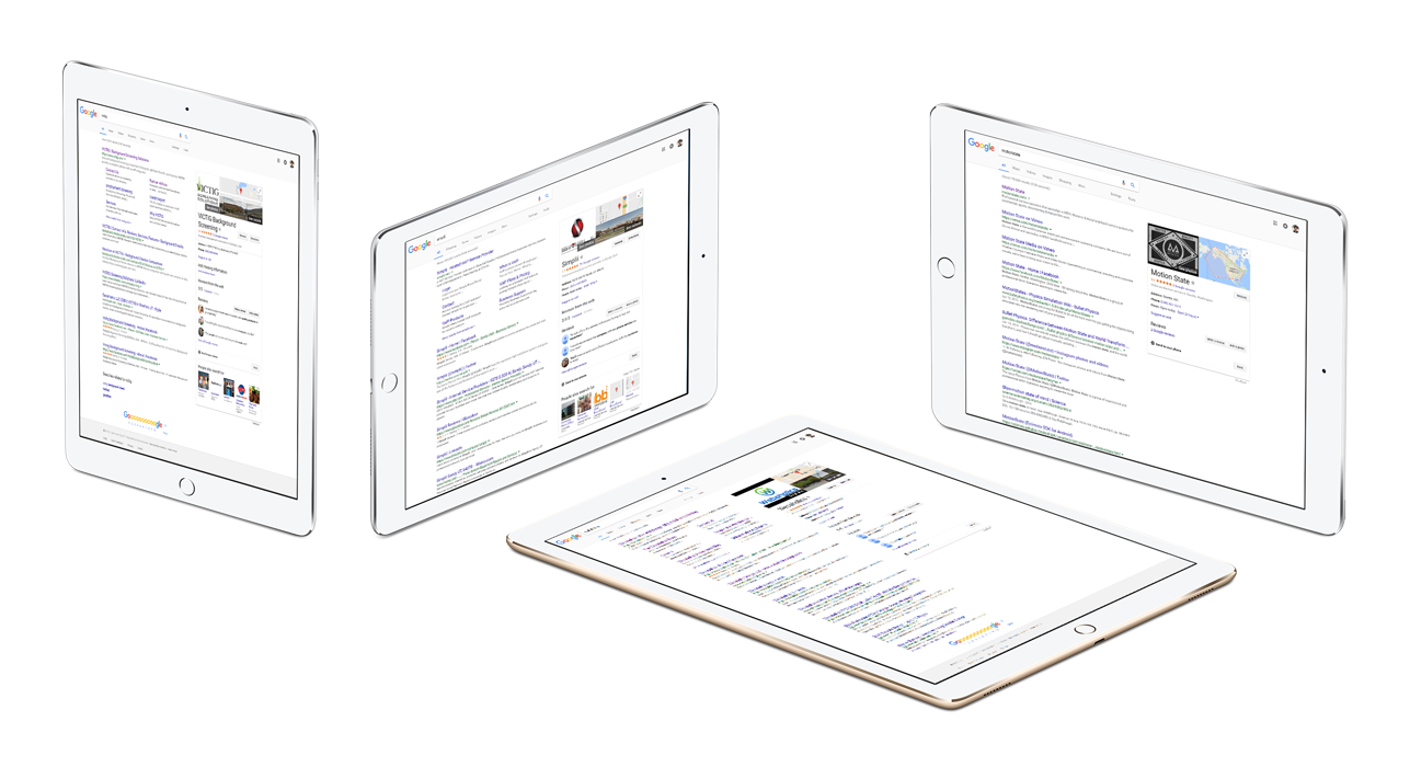 webaholics seo management google rankings ipads