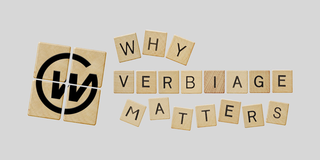 Webaholics: Why Verbiage Matters Cover Photo