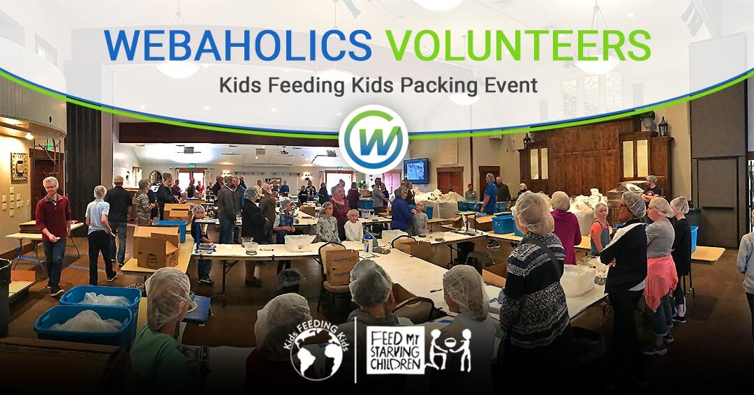 Kids Feeding Kids Volunteer Event at Gardner Village