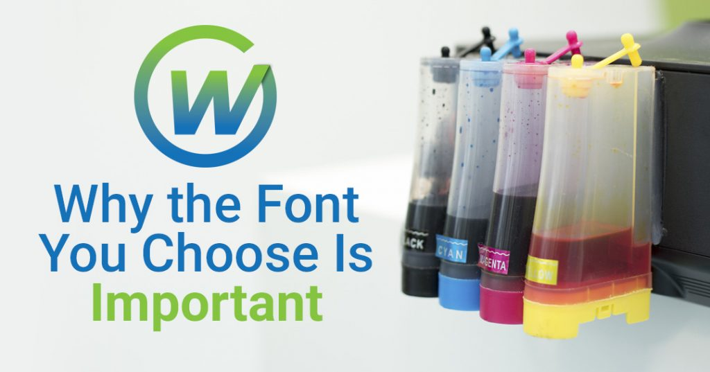 Webaholics Why The Font You Choose Is Important Cover